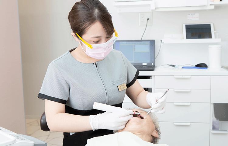 予防歯科を大切にしています